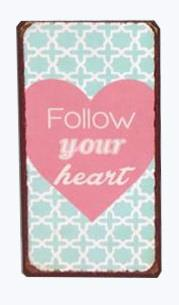 "Magneetti ""Follow your heart"""
